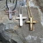 Ground Zero Small Cross Necklaces