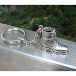 Commemorative Military Boot Keyring