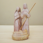 Nativity Color 4 pc Soapstone