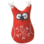 Ornament Owl Red