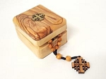 Olivewood Anglican Prayer Beads in Box