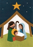 Away in a Manger Card