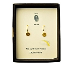 Tiny Angel Earring Gold Vermeil