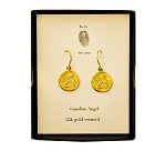 Earring Guardian Angel Gold Vermeil