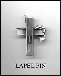 Ground Zero Small Cross Lapel Pin