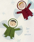 Snow Angels Card