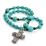 Turquoise Anglican Prayer Beads