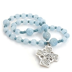 Aquamarine  Anglican Prayer Beads