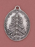 Tree Ornament - Pewter