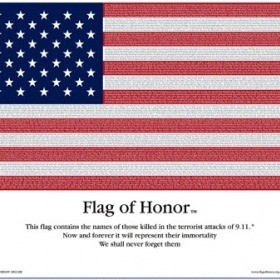 Commemorative Flag of Honor