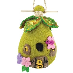 Birdhouse Fairy House