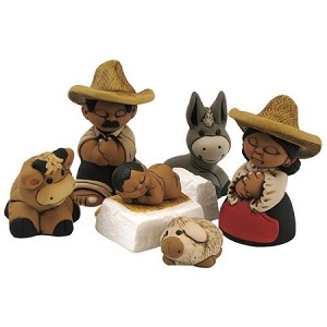 Characato Mini Nativity Set