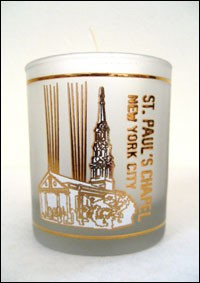 St. Paul's With Towers of Light Votive Candle