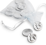 Angel Pocket Charms Pewter Set of 5