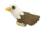 Bald Eagle Wild Woolie Ornament