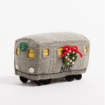 No. 5 Subway Car Felted Ornament