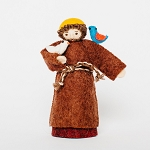 St. Francis Wool Felted Ornament