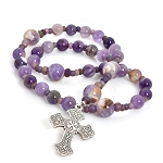 Dogtooth Amethyst Anglican Prayer Beads